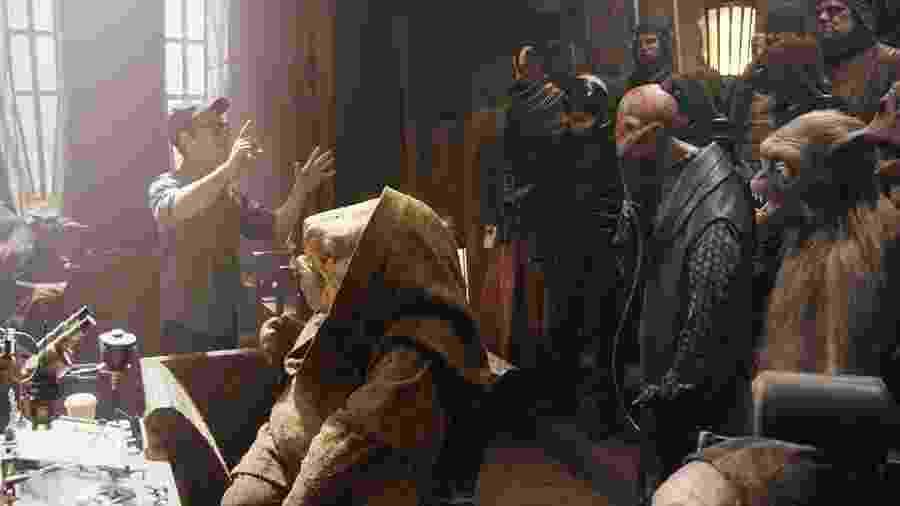 """J.J. Abrams comanda as raças alienígenas em """"Star Wars: O Despertar da Força"""" - Reprodução"""
