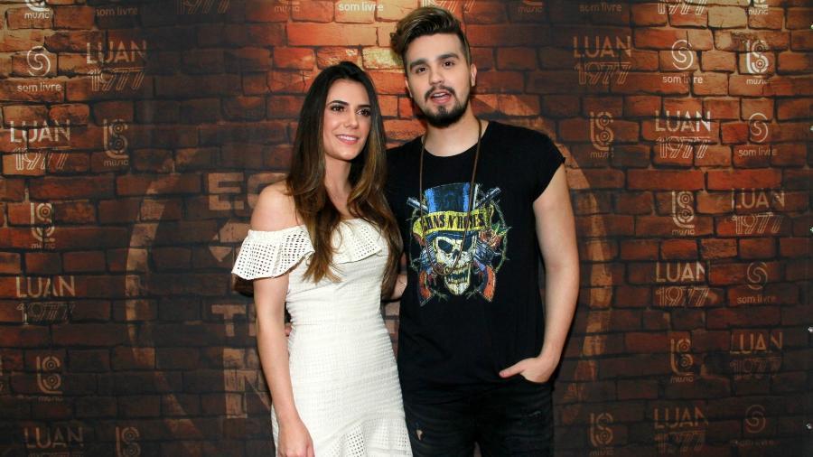 Luan Santana e Jade Magalhães - Graça Paes/Ag.News