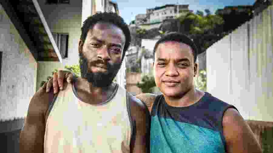 """Darlan Cunha e Douglas Silva, de """"Cidade dos Homens"""" - Divulgação"""