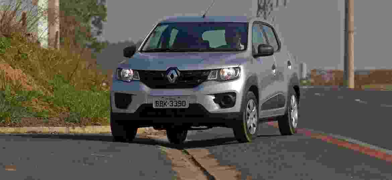 Renault Kwid parte de R$ 32.650, novo, na loja. Mas você pode fazer mais com este valor - Murilo Góes/UOL