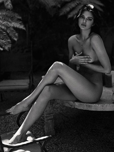Kendall Jenner posa para a fotógrafa ucraniana Sasha Samsonova - Reprodução/Instagram