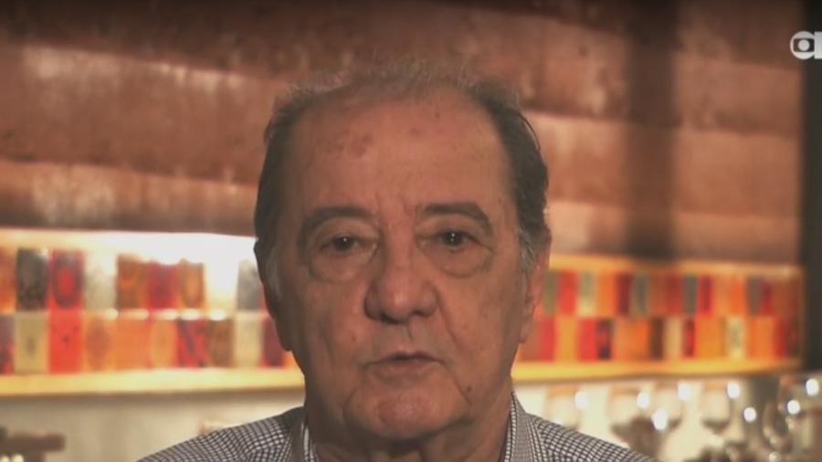 O jornalista Toninho Drummond - Reprodução/Glbonews
