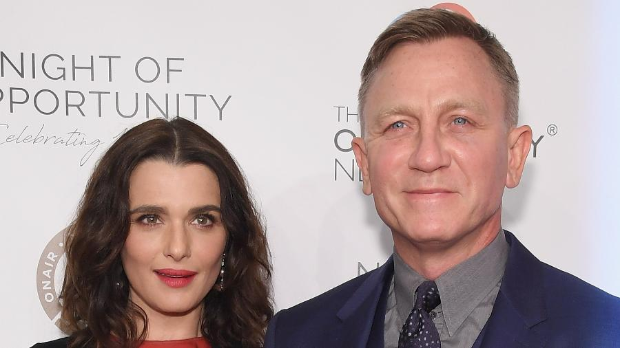 Os atores Rachel Weisz e Daniel Craig - Getty Images
