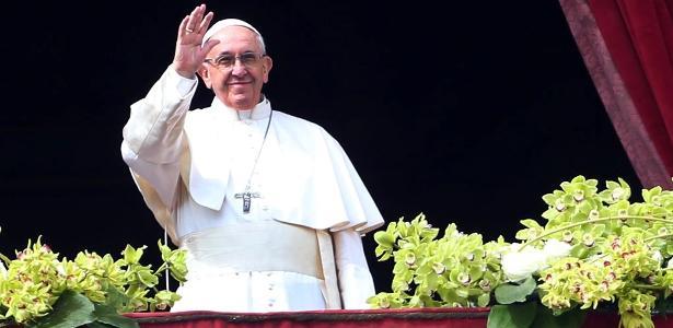 O papa Francisco pediu a proibição das armas para que o mundo tenha paz