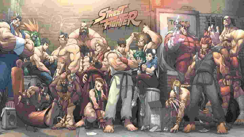 Street Fighter - Personagens - Reprodução