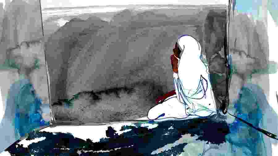 """Campanha """"Justice for Noura"""" pede intervenção internacional  - Katie Horwich/BBC"""