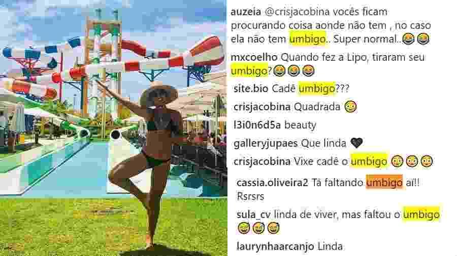 """Juliana Paes posta foto e seguidores questionam: """"cadê o umbigo?"""" - Reprodução/Instagram"""