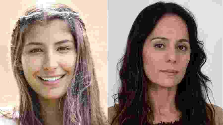 """Juliana Xavier e Cláudia Mauro fazem Maria nas duas fases de """"Jesus"""" - Colagem/Divulgação"""