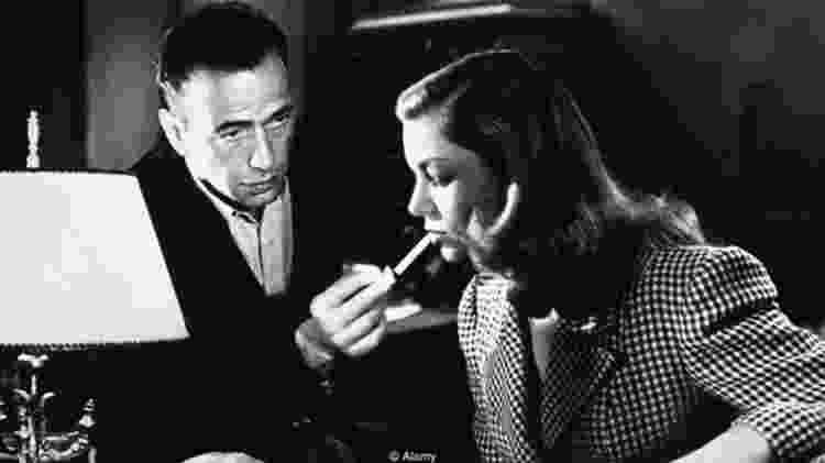 'Uma Aventura na Martinica' é inesquecível pela química do casal Bogart e Bacall, além do famoso assobio - Alamy - Alamy