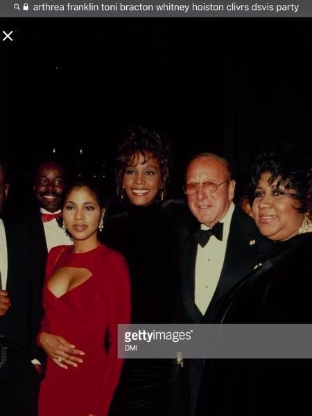 Toni Braxton vira meme com homenagem a Aretha Franklin - Reprodução/Twitter/tonibraxton