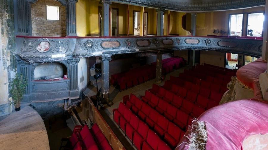 O hoje decadente Theatre des Bleus de Bar, em Bar-le-Duc, será um dos patrimônios recuperados - Getty Images
