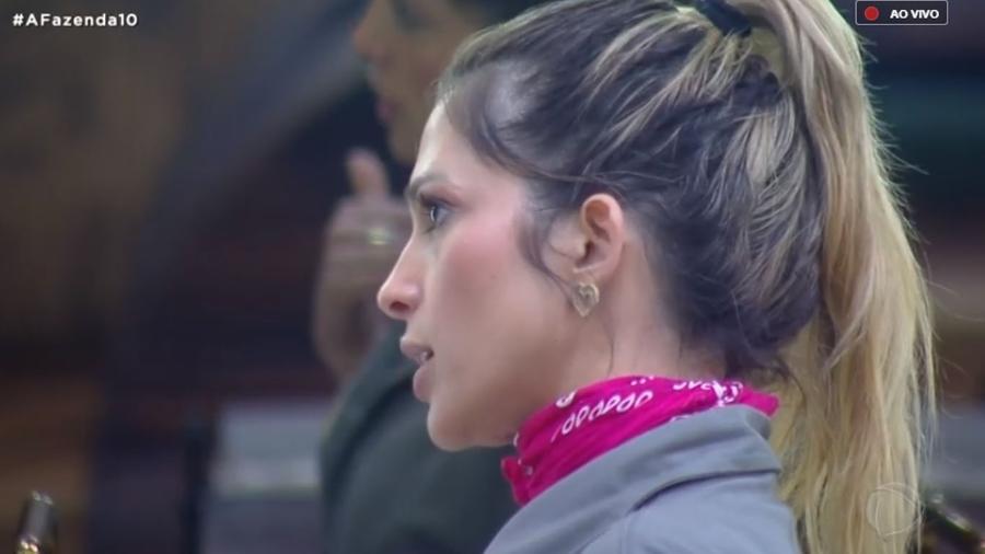 Nadja Pessoa afirma que não quer mais saber de Gabi Prado - Reprodução/PlayPlus