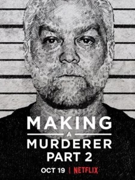 """Cartaz da segunda temporada da série """"Making a Murderer"""" - Reprodução"""