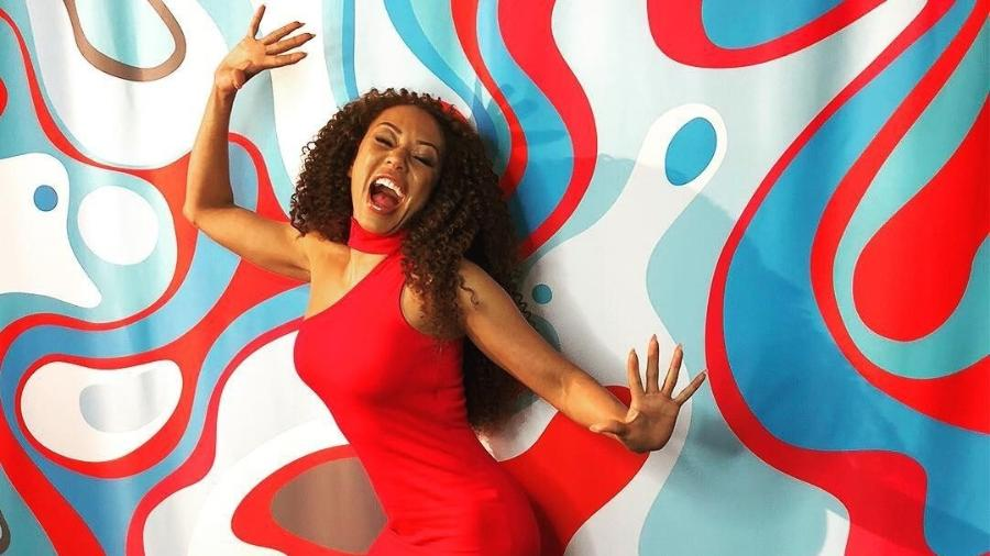"""A ex-Spice Girl,  Mel B, jurada no programa """"America""""s Got Talent"""". Sucesso lá fora, fracasso aqui. - Reprodução/Instagram/@officialmelb"""