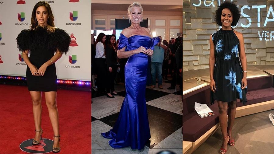 Anitta, Xuxa e Maju Coutinho - Reprodução/Instagram e Rafael Cusato/Brazil News