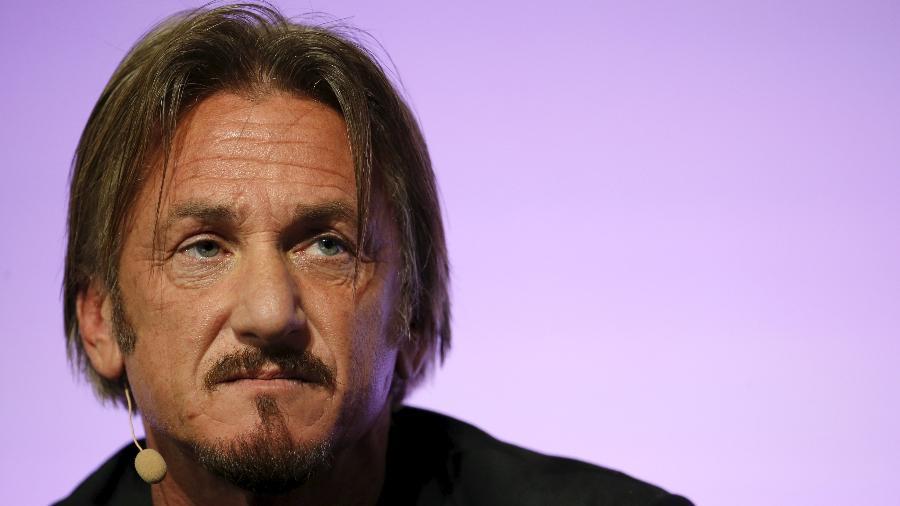 O ator, cineasta e ativista Sean Penn - Stephane Mahe/Reuters
