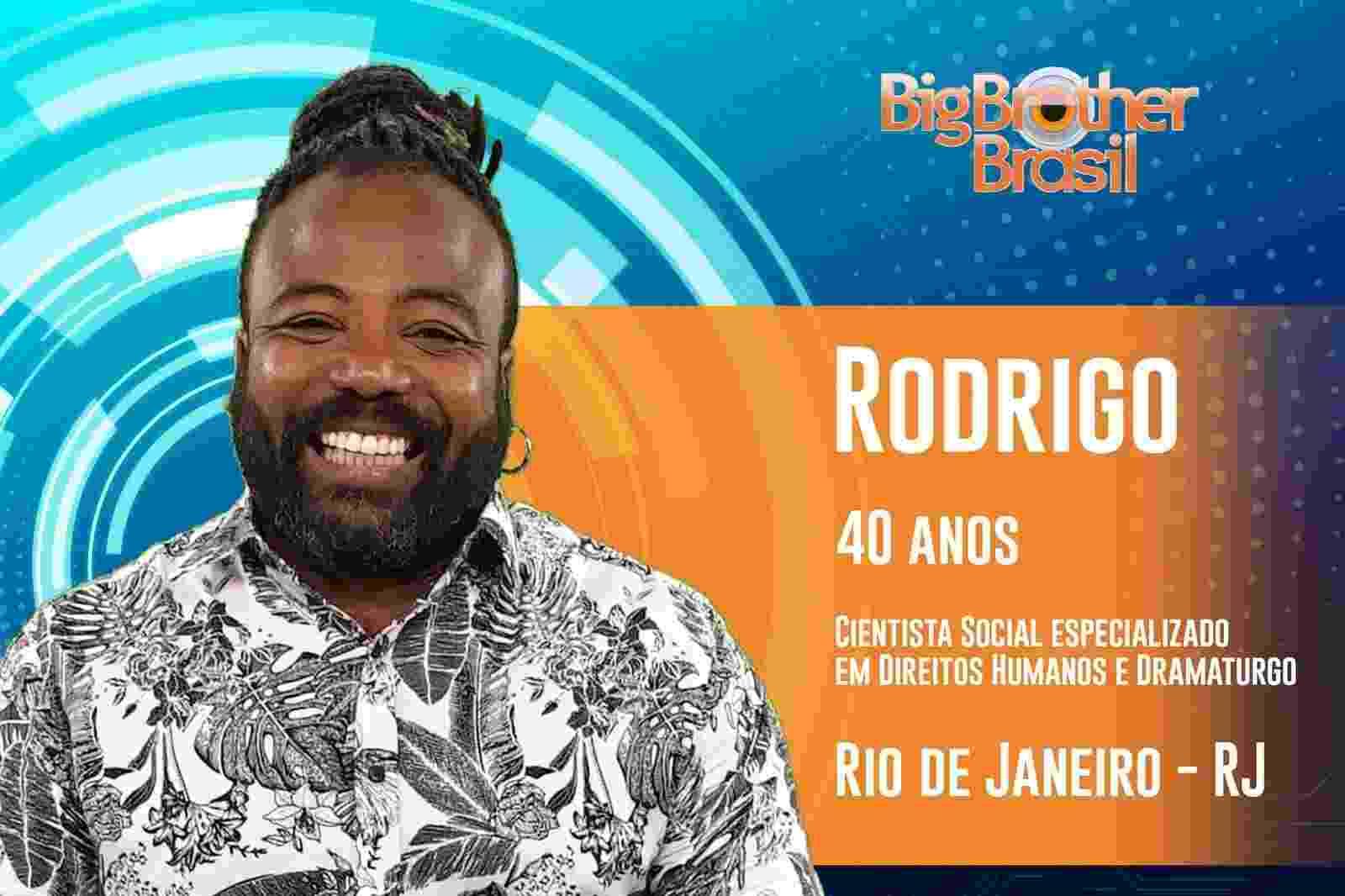 Rodrigo é o décimo quinto participante do ?BBB19? - Reprodução/TvGlobo