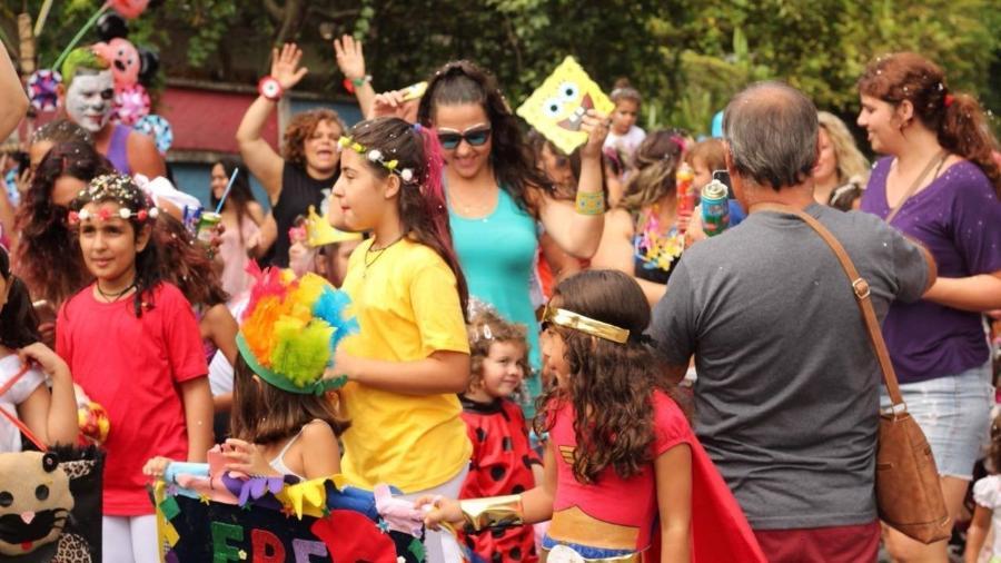 Bloco ErêTantã é um dos que vão agitar o Carnaval dos pequenos em São Paulo - Reprodução/Facebook