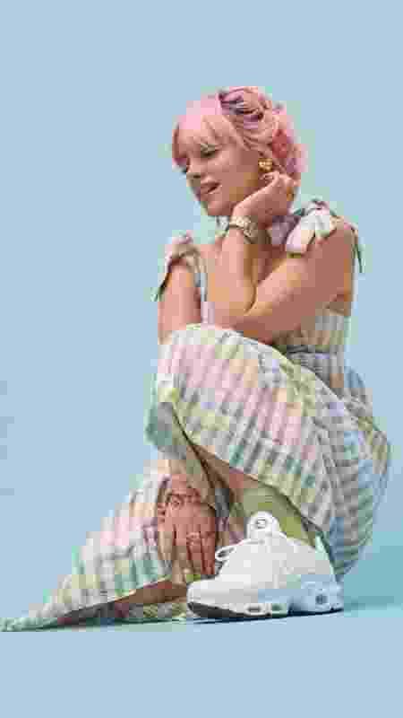 A cantora Lily Allen - Divulgação - Divulgação