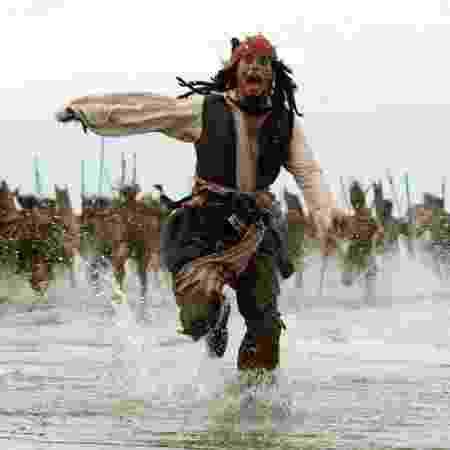 """Cena de """"Piratas do Caribe: O Baú da Morte"""" - Divulgação - Divulgação"""