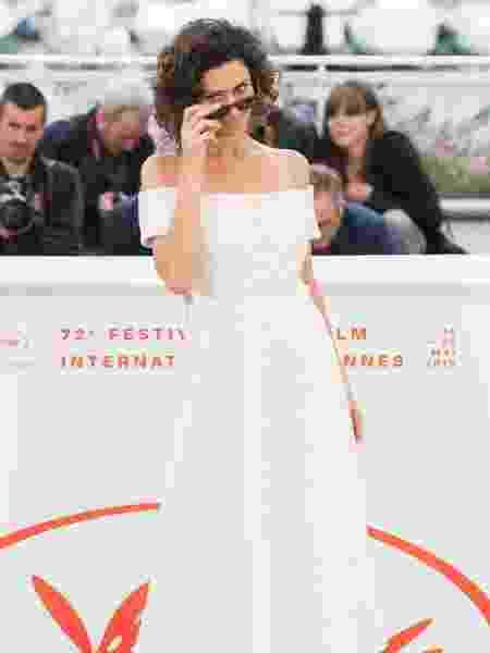 Maria Fernanda Cândido faz pose para fotos em Cannes - Samir Hussein/WireImage