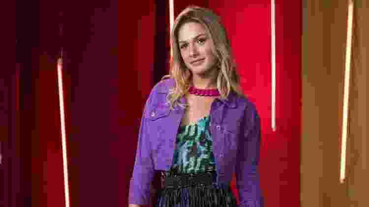 """Glamour Garcia é Britney, ex-Rarisson, em """"A Dona do Pedaço"""" - João Cotta/Globo"""