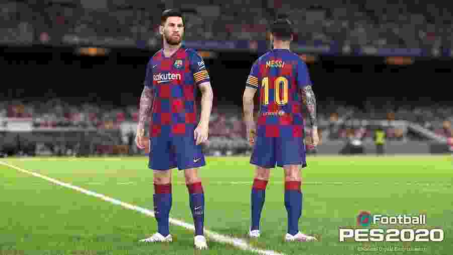"""Messi será o garoto-propaganda do próximo """"PES"""", ao lado de Ronaldinho Gaúcho - Divulgação"""