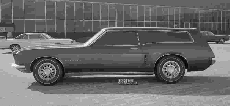 Acredite: um dia a Ford cogitou lançar uma perua do Mustang - Divulgação