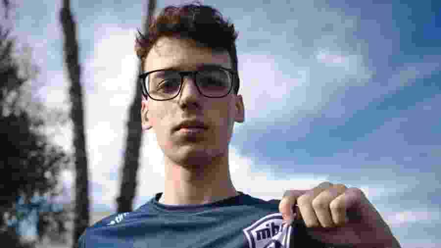 Pro player argentino de 17 anos é o primeiro latino a ser contratato pela organização brasileira. - Divulgação