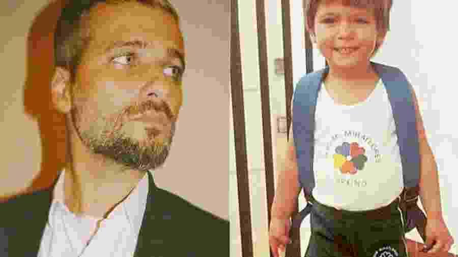 Bruno Gagliasso: hoje e quando era criança - Reprodução/ Instagram
