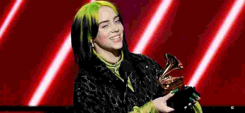 Billie Eilish levou seis prêmios em sua estreia no Grammy - Kevin Winter/Getty Images for The Recording Academy