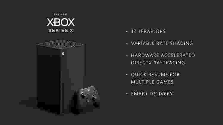 Xbox Series X Specs - Reprodução - Reprodução