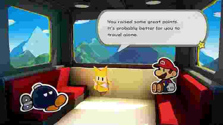 Paper Mario 8 - Reprodução - Reprodução