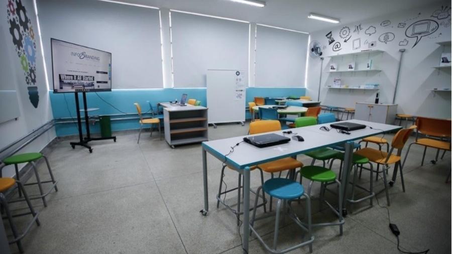 Escola de educação básica trabalhando inovação com os alunos - Divulgação