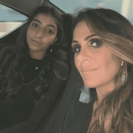 """Ex-BBB Leka brincou que se sente a """"tia Xuxa"""" dos amigos de sua filha Giovanna, de 13 anos - Reprodução/Instagram/@lekabegliomini"""
