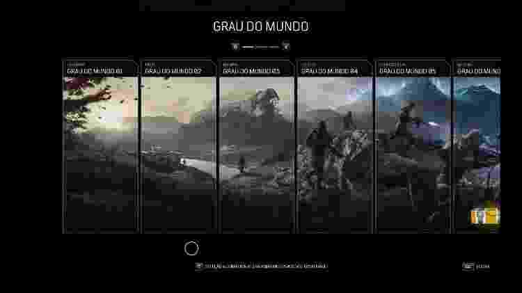 Outriders Nível do Mundo - Daniel Esdras/GameHall - Daniel Esdras/GameHall