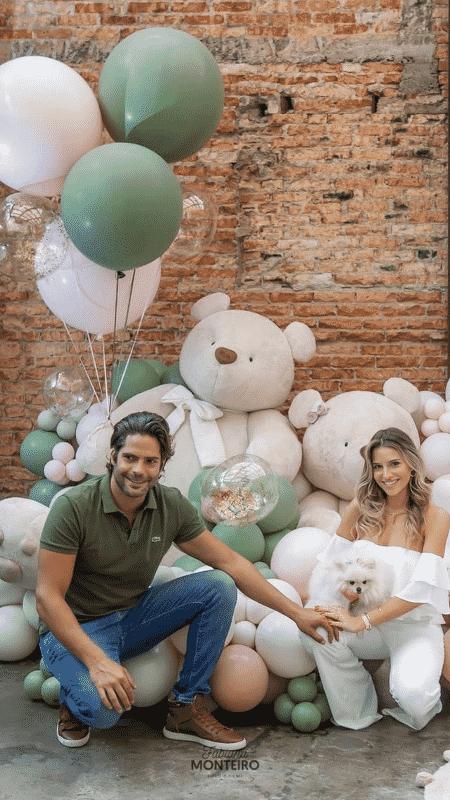 Jorge Sestini e Sharon Fliter - Reprodução/Instagram - Reprodução/Instagram