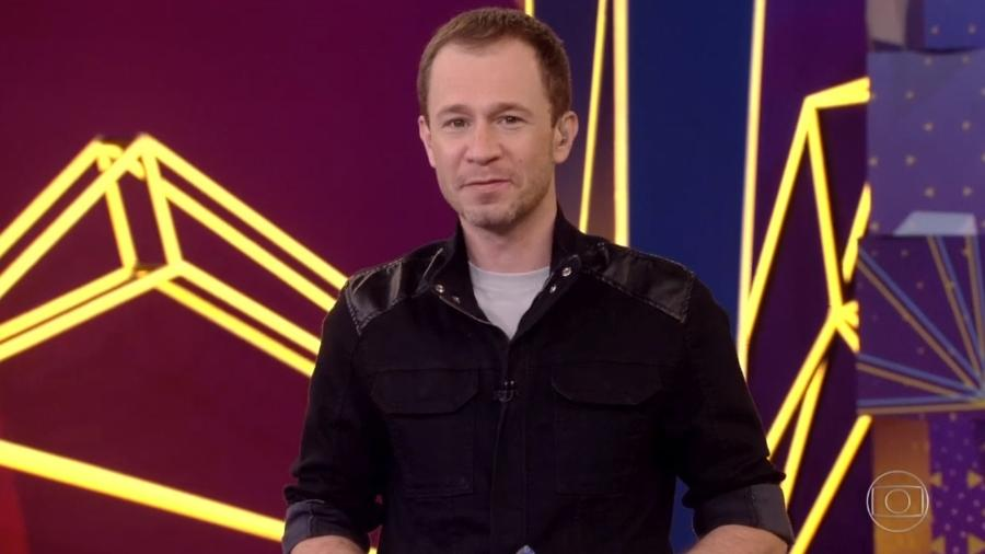 BBB 21: Tiago Leifert anuncia que Caio é o décimo primeiro eliminado do reality show - Reprodução/Globo