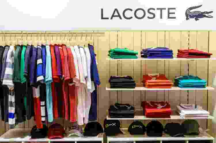 Loja da Lacoste em Buenos Aires, Argentina - Jeffrey Greenberg/Universal Images Group via Getty Images - Jeffrey Greenberg/Universal Images Group via Getty Images