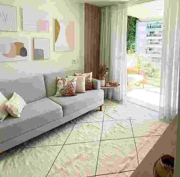 Sala de estar de Gi Mello - Arquivo Pessoal - Arquivo Pessoal