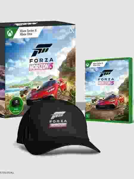 Edição física especial de Forza Horizon 5 - Divulgação/Microsoft - Divulgação/Microsoft