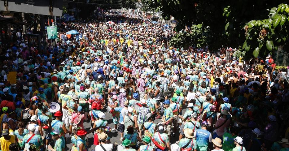 Bloco Suvaco de Cristo arrasta multidão na zona sul do Rio de Janeiro