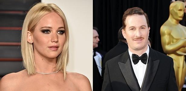 Jennifer Lawrence e Darren Aronofsky estão juntos - Getty Images/Montagem UOL