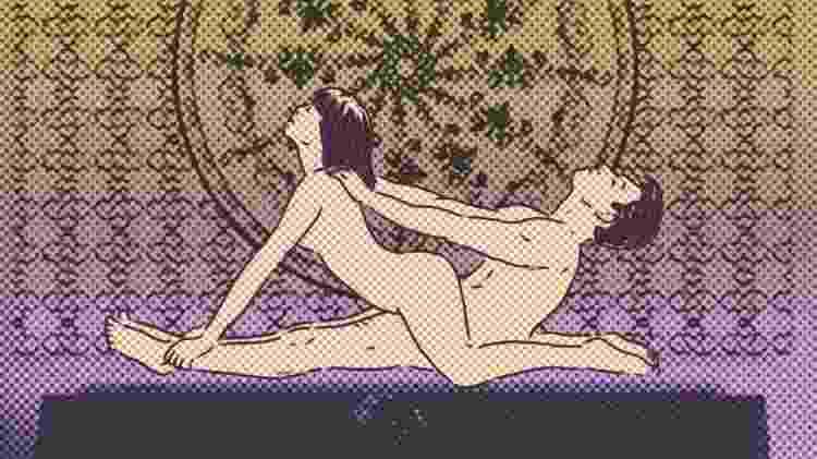 câncer: matéria de tabus no sexo de UOL Comportamento - Didi Cunha/Arte UOL - Didi Cunha/Arte UOL