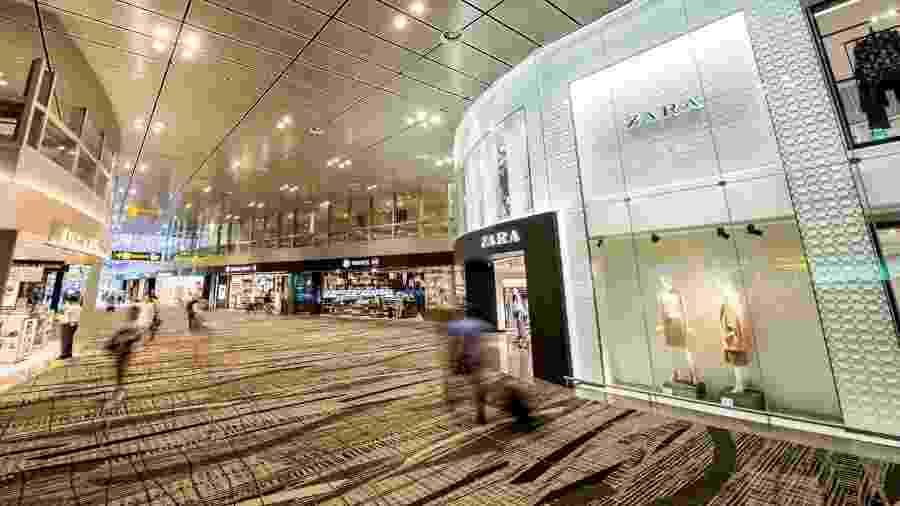 O aeroporto de Changi promove excursões gratuitas para cartões-postais de Cingapura - Divulgação/Changi Airport Group