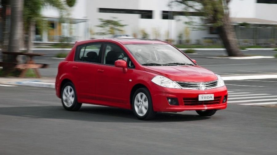 Tiida 2011 é um dos modelos envolvidos na convocação da Nissan - Divulgação