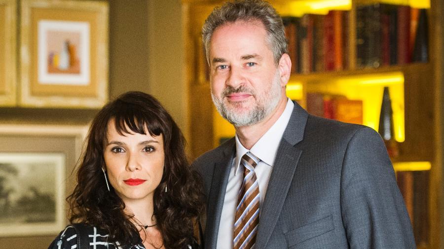 Débora Falabella e Dan Stulbach  - João Miguel Júnior/Globo