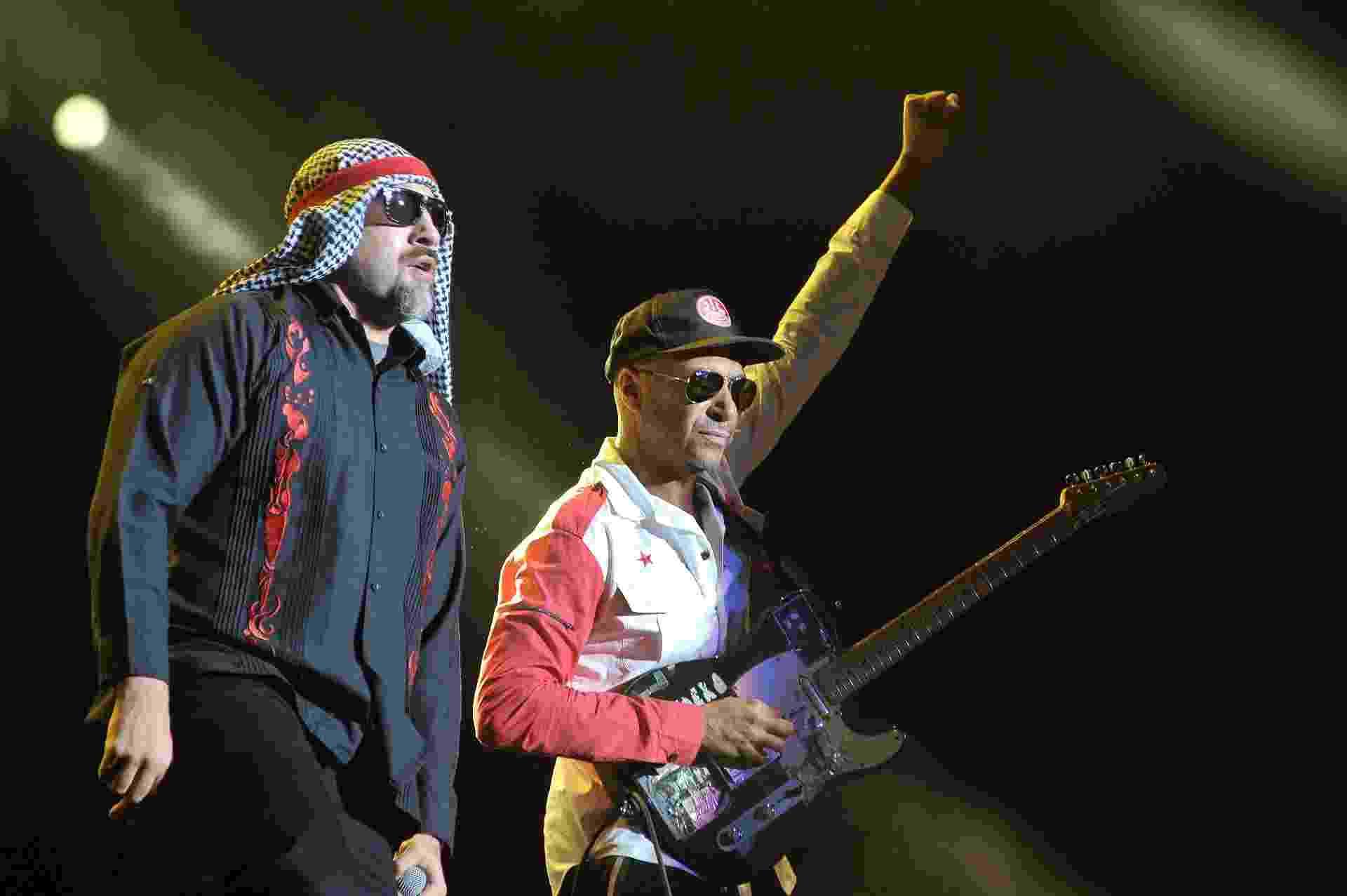 Supergrupo Prophets of Rage se apresenta em Interlagos - Reinaldo Canato/UOL