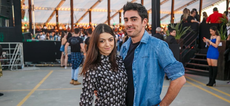 Marcelo Adnet faz primeira aparição pública ao lado da nova namorada, Patrícia Cardoso - Felipe Gaieski/Divulgação