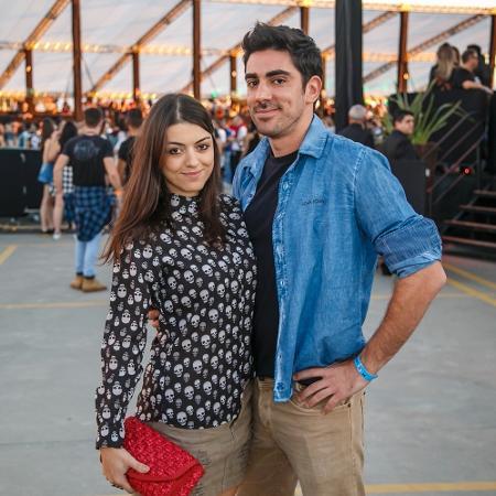 Marcelo Adnet e a namorada Patrícia Cardoso - Felipe Gaieski/Divulgação